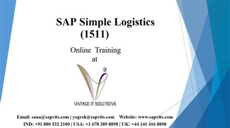 tutorial sap logistics learn sap logistics and supply chain management with our