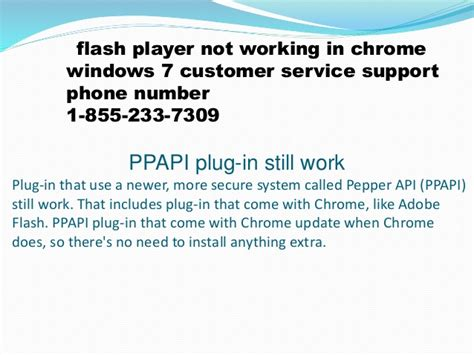 chrome not responding windows 7 1 855 233 7309 flash player not working in chrome windows