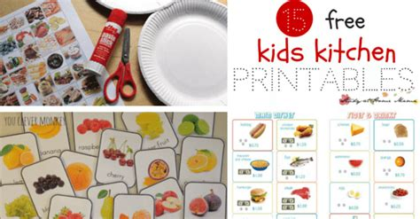 printable play kitchen templates kids kitchen printables study at home mama