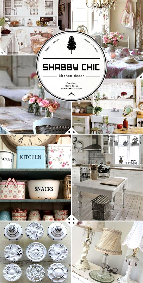 Shabby Chic Kitchen Decorating Ideas by Shabby Chic Kitchen Decor Ideas Home Tree Atlas