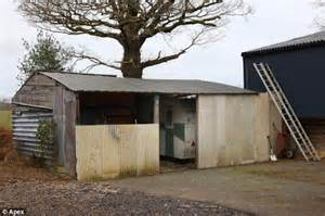 Dilapidated Shed by Pensioner Maurice Who Lived In A Shed Left 163