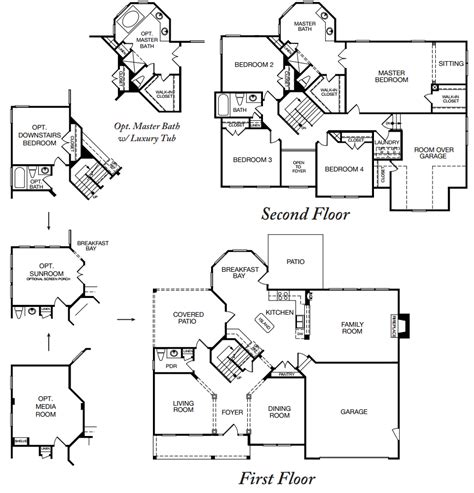benchmark homes floor plans benchmark homes house plans