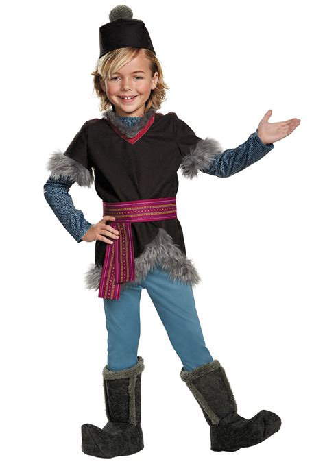 halloween costumes frozen kristoff deluxe child costume