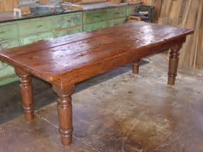 Farmers Kitchen Table Rustic Kitchen Table Afreakatheart