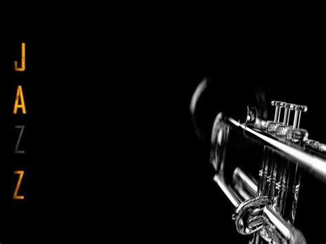 jazz wallpaper black and white jazz trumpet by uraszz on deviantart