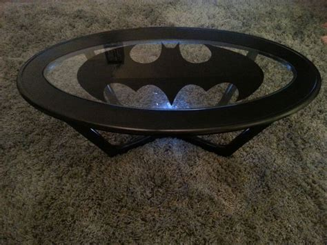 my d i y batman coffee table cave ideas