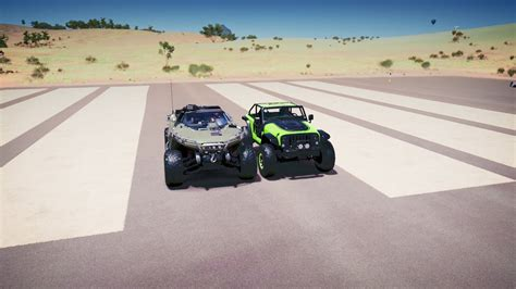 halo warthog jeep forza horizon 3 halo warthog vs jeep trailcat drag race