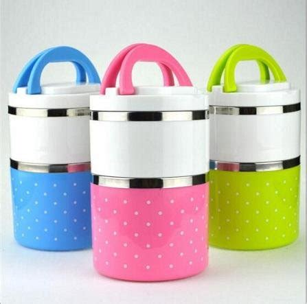 As Promo Rantang Stainless 4 Susun Lunch Box jual beli jual rantang 2 susun polkadot stainless promo