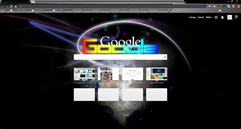 themes chrome chrome theme by serschik on deviantart