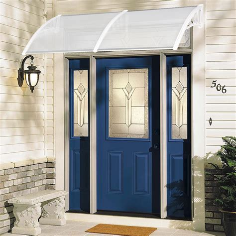 diy window awning front door canopy polycarbonate cover