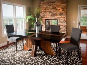 Rustic Modern Dining Room Tables Rustic Modern Dining Table Modern Dining Room Other Metro By Woodland Creek