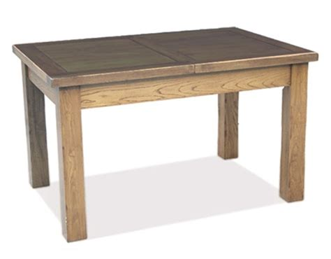 rustic oak extending dining table 1320 2030mm review