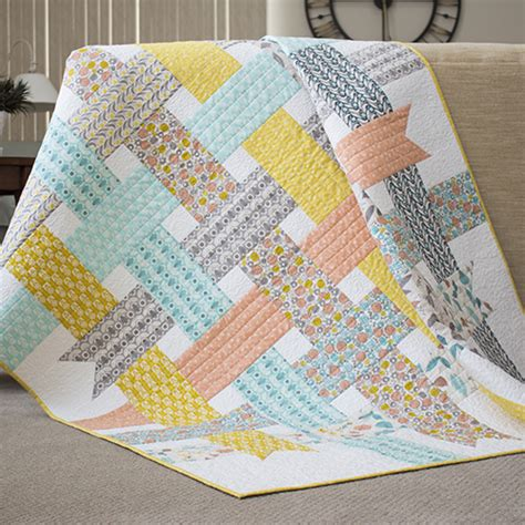 Sewing Quilts by Make It Sew Ribbon Box Quilt Cloud9 Fabrics