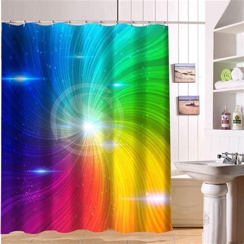 rainbow curtain online get cheap rainbow shower curtain aliexpress com