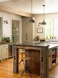 Salvaged Wood Kitchen Island The World S Catalog Of Ideas