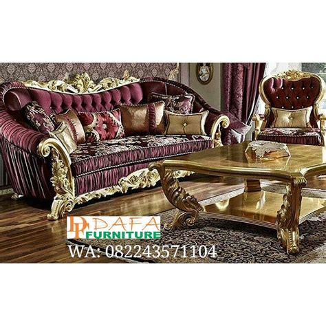 Kursi Tamu Sofa Ukir Mewah set kursi sofa tamu mewah ukir jepara klasik terbaru