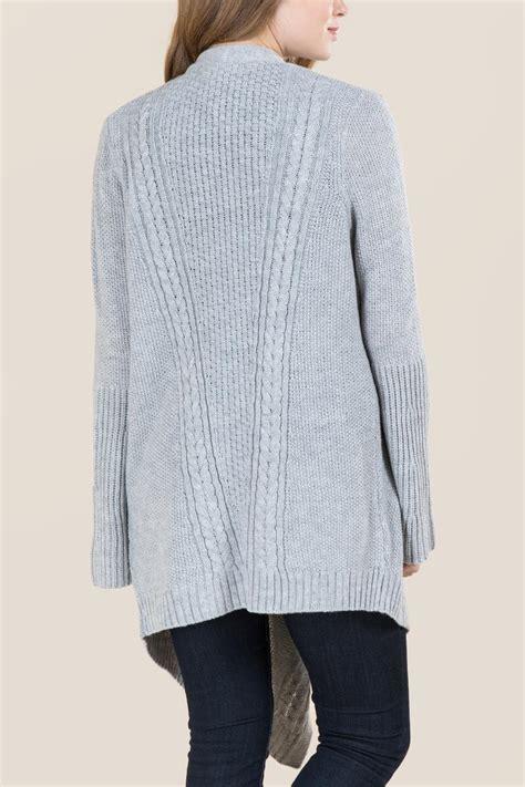 drape front sweater hadley drape front sweater wrap francesca s