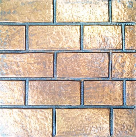 Handmade Wall Tiles - handmade copper wall tile product services metal