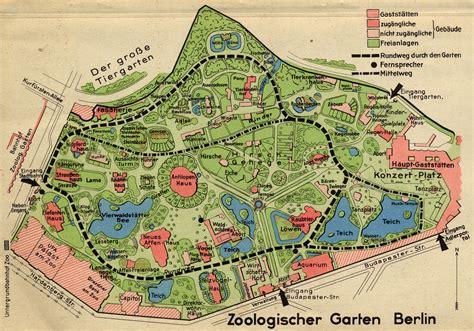 Zoologischer Garten Berlin Plan by Berlin Zoo And Surrounding Areas The Elephant Gate