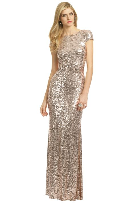 Gold Dress For badgley mischka gold dress ideas for designers collection