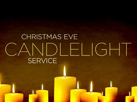 Join us for our annual christmas eve service as we remember how our