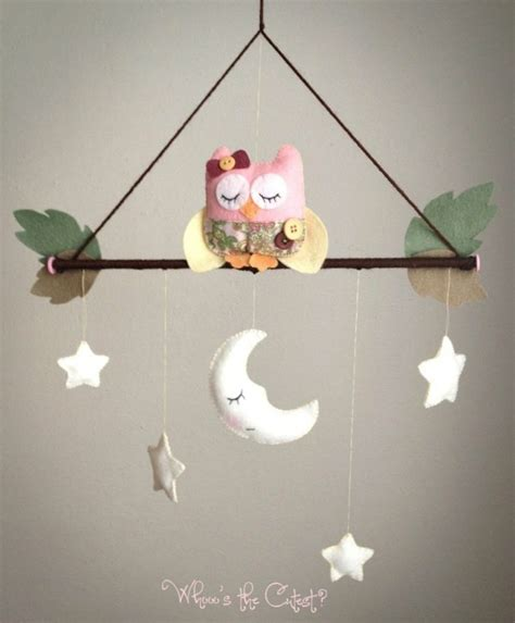 Girl Themes For Mobile | baby mobile owl baby mobile forest mobile baby girl