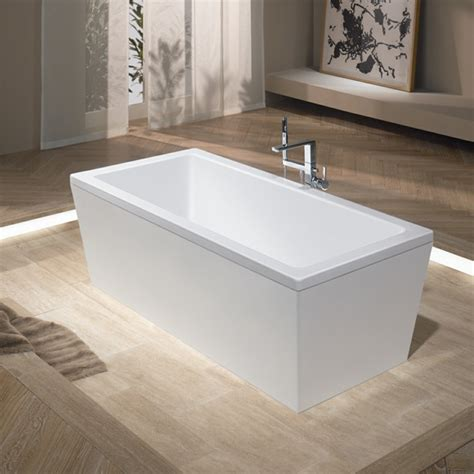 kaldewei bathtubs kaldewei conoduo freestanding bath with panelling white