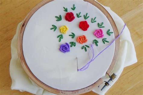 Handmade Embroidery Design - 7 success tips for embroidery stitches