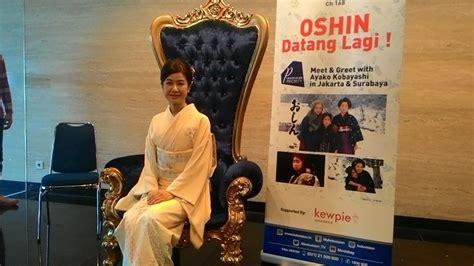 lagu film oshin ayako kobayashi sang pemeran oshin akui rindu senyum fans
