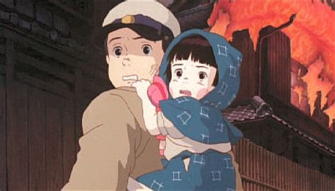 film4 ghibli grave of the fireflies on film4 tonight news anime uk