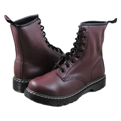 sketchers boots skechers womens thrash burgundy boots ebay