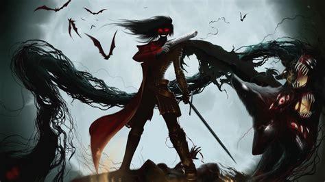 wallpaper anime hd 1080 x 1920 full hd wallpaper hellsing smile alucard sword gun