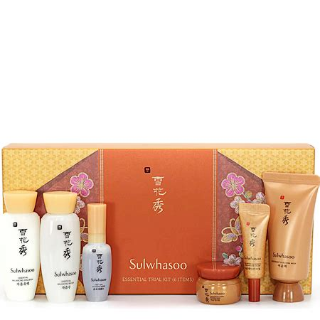Sulwhasoo Basic Kit Trial 5 Item พร อมส ง sulwhasoo essential trial kit 6 items เซ ต