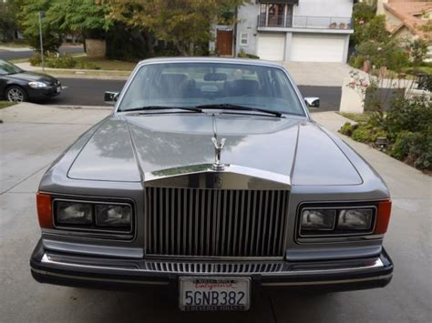 Rolls Royce Mulsanne Rolls Royce 1987 Silver Spirit Mulsanne For Sale Photos