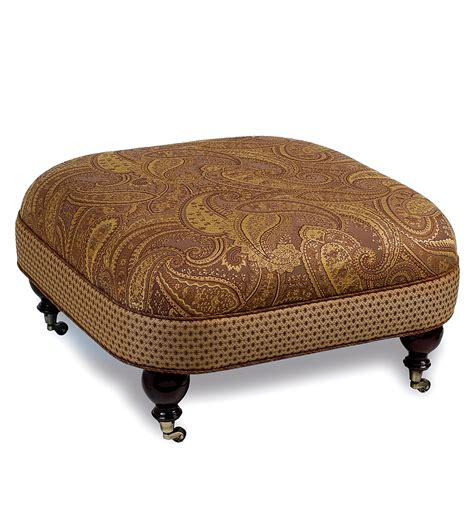 ottomans on casters luxury bedding by eastern accents gershwin ottoman on