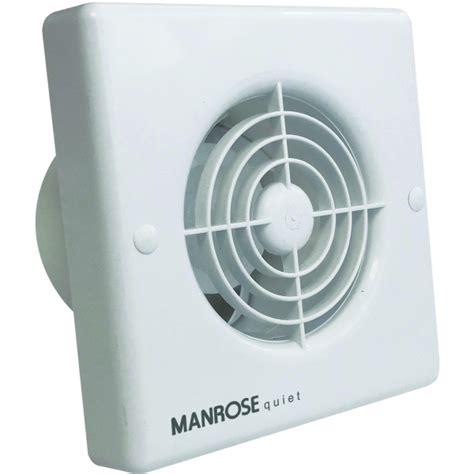 axial bathroom fan manrose quiet fan qf100 4 quot