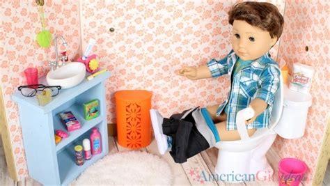 how to make an american girl doll bathroom how to make a doll toilet american girl ideas american