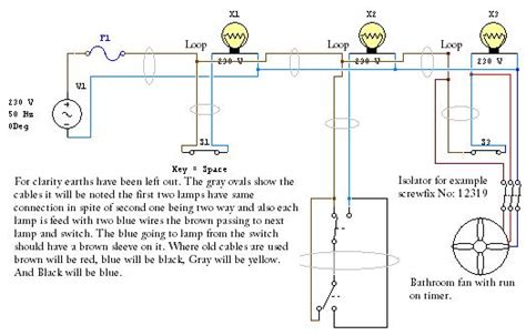 how to wire an extractor fan in a bathroom wiring diagram extractor fan light switch efcaviation com