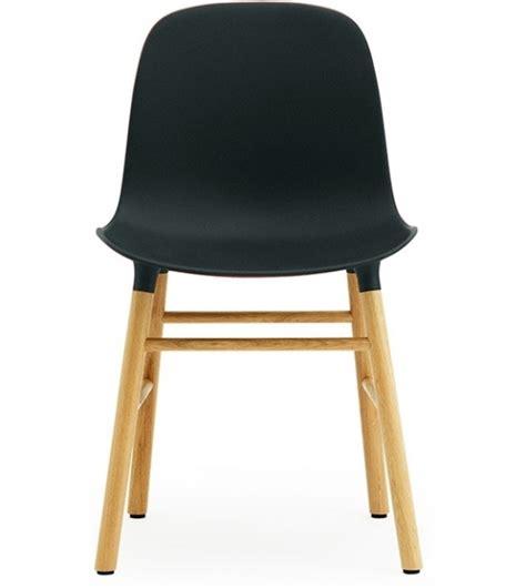 gambe per sedie form sedia con gambe in legno normann copenhagen milia shop
