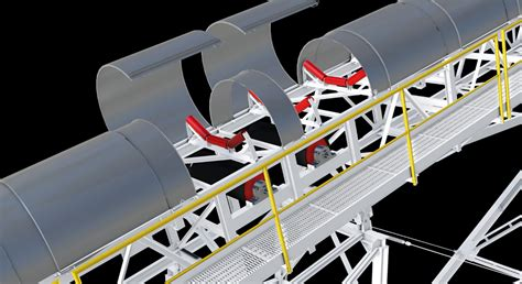 Home Technology Systems by Conveyor Belt Covers Quarry Mining