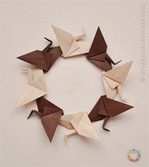 tutorial origami crane 326 best origami cranes 2 images on origami