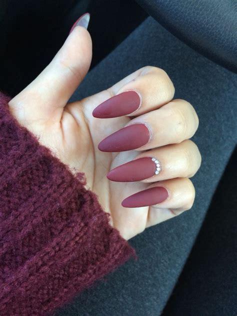 matte red stiletto matte nails nails pinterest matte nails