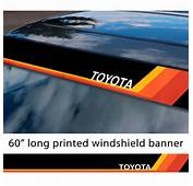 Buy 60 Toyota TRD Racing Development V3 Sun Strip Printed