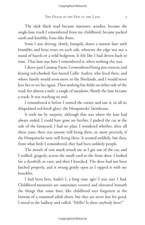 The Ocean at the End of the Lane: A Novel: Neil Gaiman