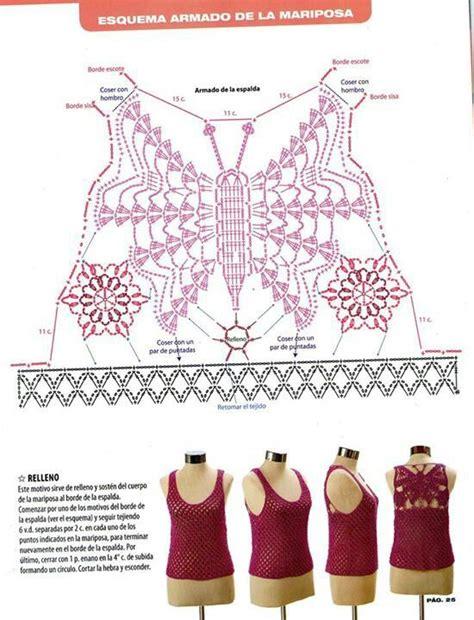 Tank Top Rajut Bekas 1000 images about crochet on crochet tops crochet blouse and charts
