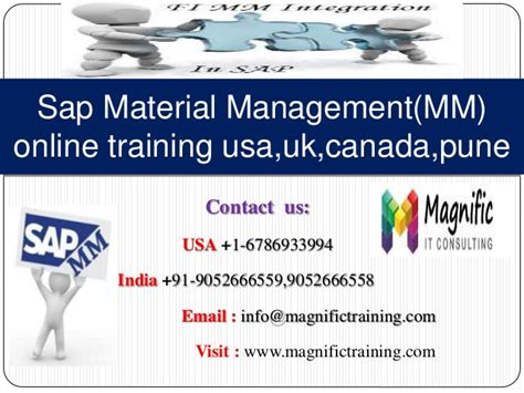 online tutorial in usa sap material management mm online training usa uk canada pune