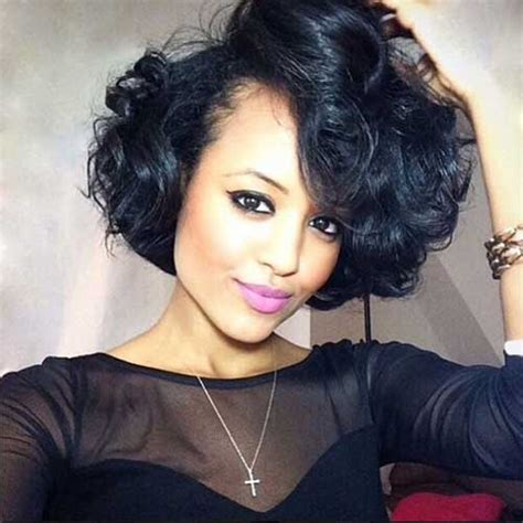 best weavon for short hair 20 short curly weave hairstyles short hairstyles