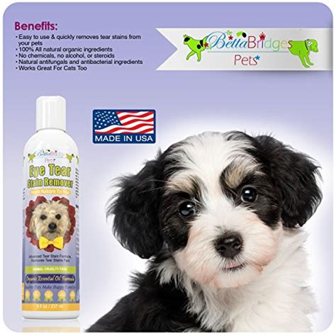 shih tzu tear stains tear stain remover for dogs and cats eye removes tough tear stains gently fast