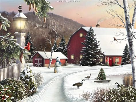 wallpaper christmas landscape my free wallpapers artistic wallpaper christmas landscape
