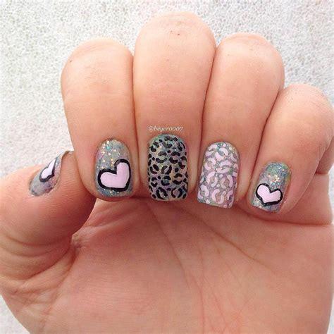 imagenes de uñas acrilicas de leopardo 150 u 241 as decoradas animal print u 209 as decoradas nail art